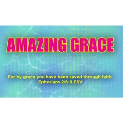 Amazing Grace Scripture Cards, Pack of 25  -