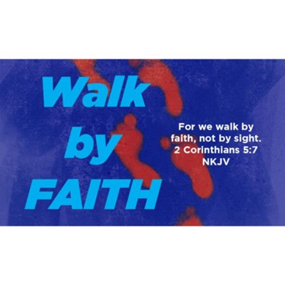 Walk by Faith Scripture Cards, Pack of 25  -