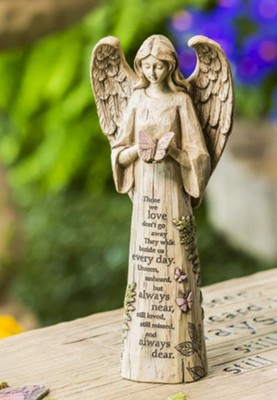 Angel with Butterfly Garden Statue  -
