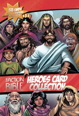 Action Bible Heroes Card Collection  -