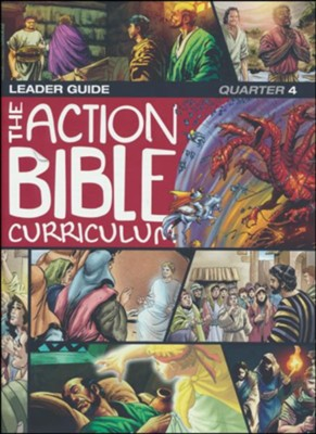 Action Bible Curriculum Leader's Guide, Quarter 4  -