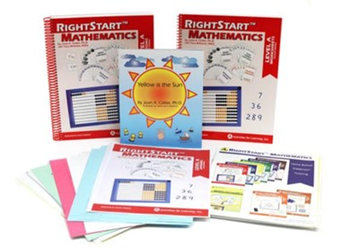 RightStart Mathematics Level A Book Bundle, 2nd Edition   -     By: Joan Cotter Ph.D.