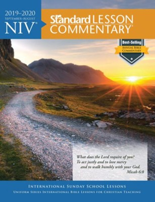 2019-2020 NIV Standard Lesson Commentary, softcover  -