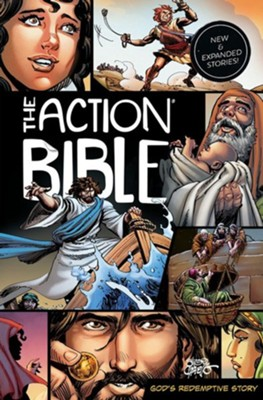 The Action Bible, Updated   -     Illustrated By: Sergio Cariello