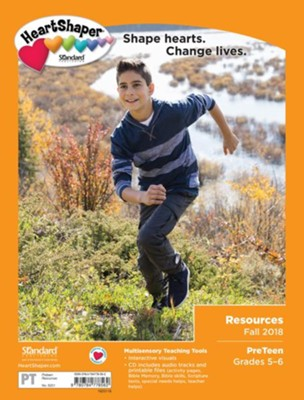 HeartShaper: PreTeen Resources, Fall 2018  -