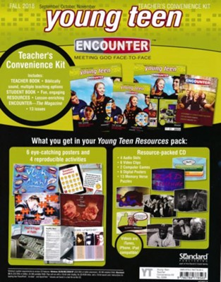 Encounter: Young Teen Teacher's Convenience Kit, Fall 2018  -