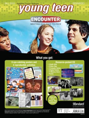Encounter: Young Teen Resources, Fall 2018  -