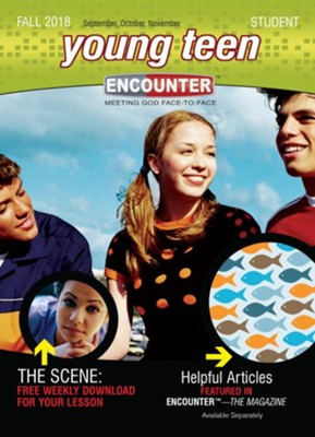 Encounter: Young Teen Student, Fall 2018  -