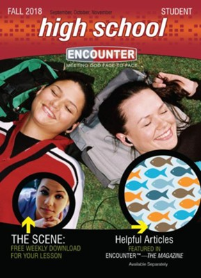 Encounter: High School Student, Fall 2018  -