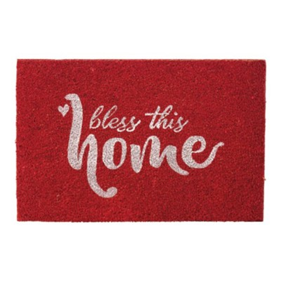 Bless This Home Doormat  -