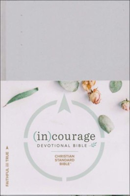 CSB (in)courage Devotional Bible, hardcover  -