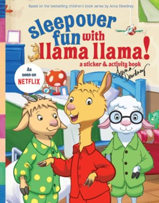 Sleepover Fun with Llama Llama: A Sticker & Activity Book  -