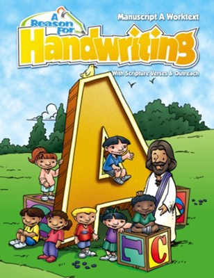 A Reason For Handwriting: Manuscript A--Student Worktext, Grade 1   -     By: Carol Ann Retzer, Eva Hoshino