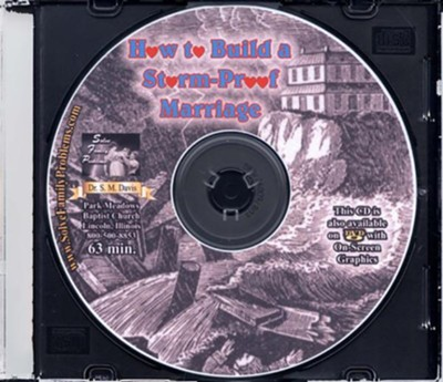 How to Build a Storm-Proof Marriage Audio CD  -     By: Dr. S.M. Davis
