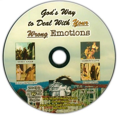 God's Way to Deal With Your Wrong Emotions Audio CD  -     By: Dr. S.M. Davis