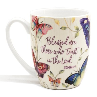 Blessed Are Those, Gift Boxed Mug  -     By: Sandy Clough