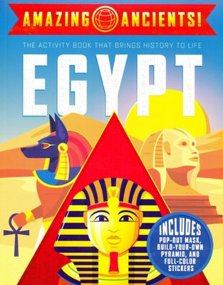 Amazing Ancients!: Egypt Activity Book  -     By: Gabby Vernon-Melzer