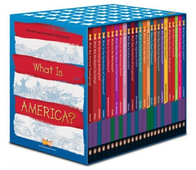 What Is America? 25c Box Set  -     By: Who HQ