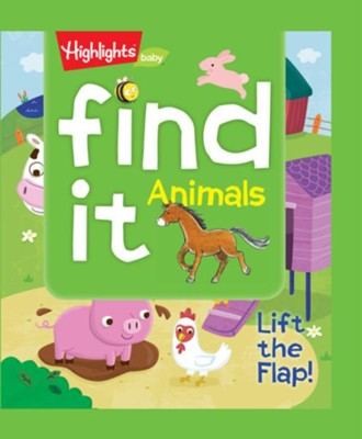 Find It! Animals  -     By: Highlights