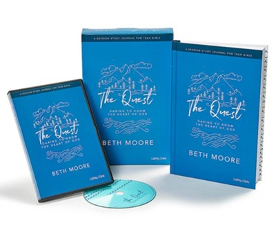 The Quest, Study Journal for Teen Girls DVD Leader Kit: Daring to Know the Heart of God  -     By: Beth Moore