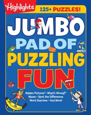 Jumbo Pad of Puzzling Fun  -     By: Highlights