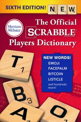 The Official SCRABBLE Players Dictionary, Sixth Edition   -