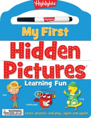 My First Hidden Pictures Learning Fun  -     By: Highlights
