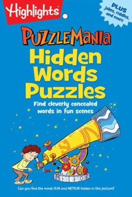 Hidden Words Puzzles  -     By: Highlights