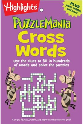 Puzzle Mania Cross Words  -     By: Highlights