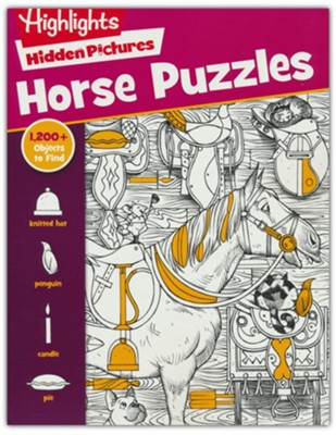 Horse Puzzles  -     By: Highlights