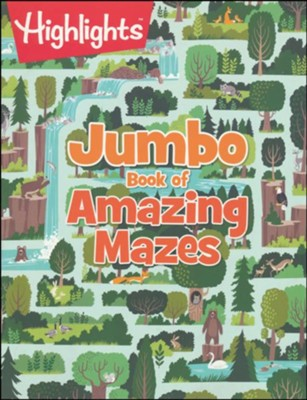 Highlights, Jumbo Book of Amazing Mazes  -     By: Highlights