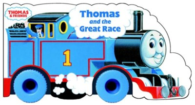 Thomas & Friends: Thomas and the Great Race   -     By: Rev. W. Awdry     Illustrated By: Owain Bell