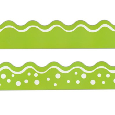 Happy Lime Double-Sided Border   -