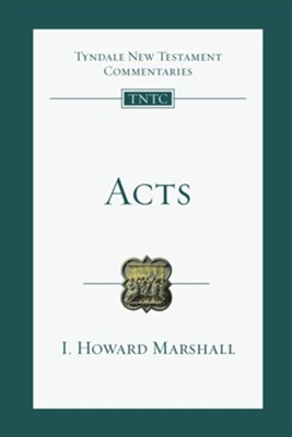 Acts - eBook  -     By: I. Howard Marshall