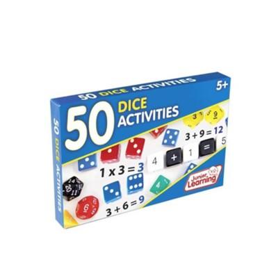 50 Dice Activities Cards   -