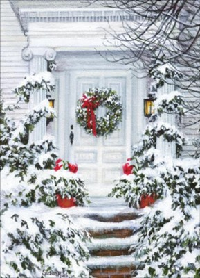 A Holiday Welcome Christmas Cards, Box of 12  -     By: Susan Rios