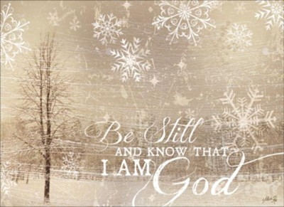Be Still and Know Christmas Cards, Box of 12  -     By: Marla Rae