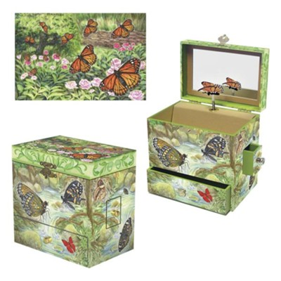 Monarchs, Jewelry Box  -