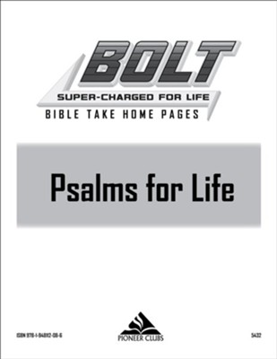 BOLT Psalms for Life Take Home Pages (10 pack)  -