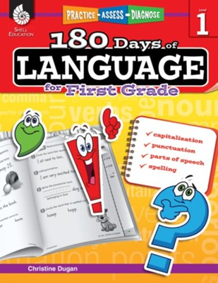 180 Days of Language, Grade 1   -