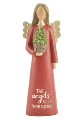 Angels Keep Their Watch, Christmas Angel  -     By: Barbara Lloyd