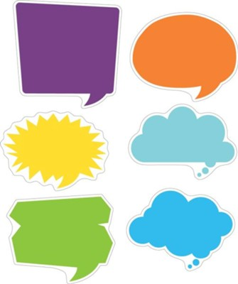 Happy Talk Double-Sided Accents (Pack of 36)   -