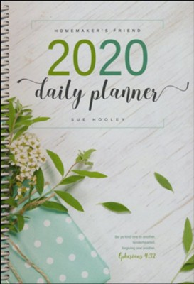 2020 Homemaker's Friend Daily Planner   -     By: Sue Hooley