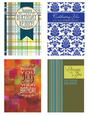 Blessings Birthday Cards, Box of 12  -