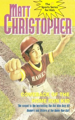 Comeback of the Home Run Kid - eBook  -     By: Matt Christopher