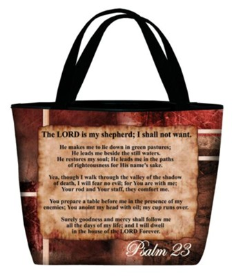 Psalm 23 Tote Bag  -