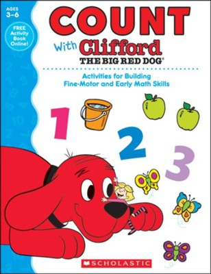 Count With Clifford The Big Red Dog  -