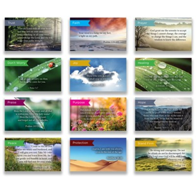 Pass Along Scripture Card Variety Pack of 60, Assortment 6  -