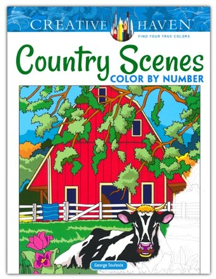Country Scenes Color by Number  -     By: George Toufexis
