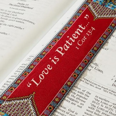 I Corinthians 13:4 Carpet Bookmark   -